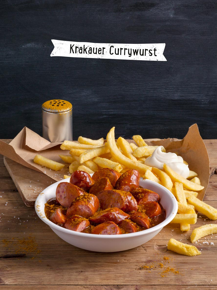 Riesenkrakauer Curry