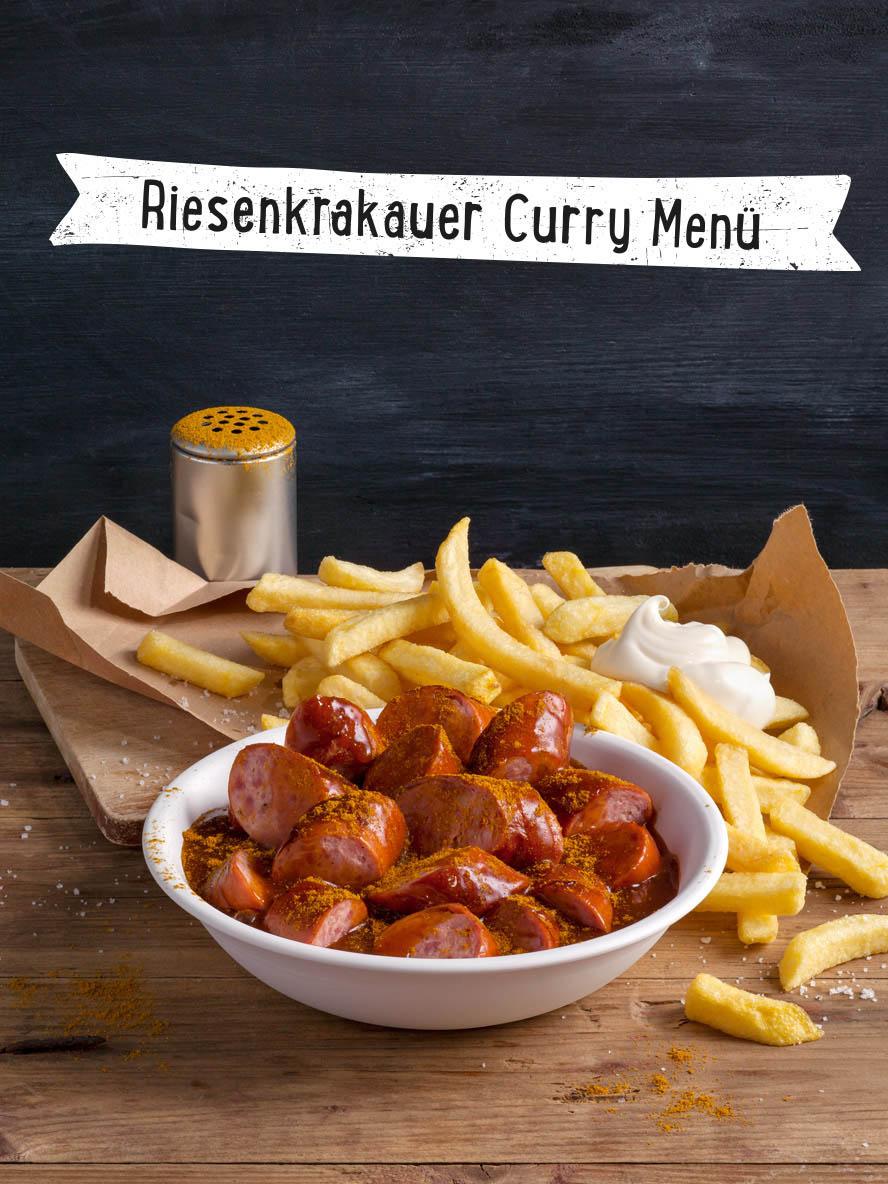 Riesenkrakauer Curry