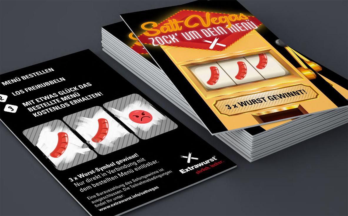 Satt Vegas – Spar Dich satt!